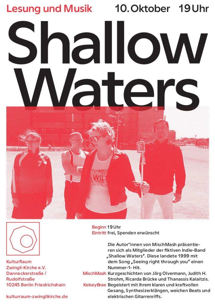 """Misch Mash als One-Hit-Wonder Band """"Shallow Waters"""""""